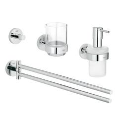 Комплект аксессуаров для ванной Grohe Essentials Master Bathroom 40846001 фото