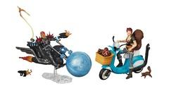 Марвел Легенд фигурка на мотоцикле Призрачный Гонщик и Девушка Белка