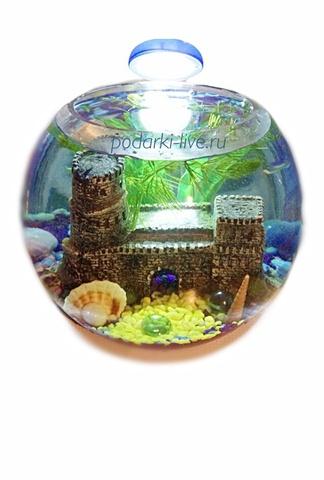 Мини аквариум шар 5 л с
