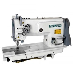 Фото: Двухигольная прямострочная швейная машина Siruba T828-75-064H