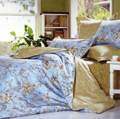 Сатиновое постельное бельё  2 спальное  В-144