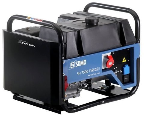 Кожух для бензинового генератора SDMO SH7500TE-2 (6000 Вт)