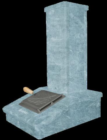 Облицовка на трубу - Талькохлорит, высота 790 мм