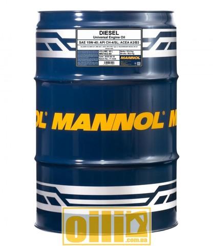 Mannol 7402 DIESEL 15W-40 60л