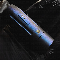Method One 21 Custom Coated By Palmers Powders Blue belly by Method Mech Mods