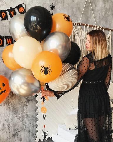 Набор шаров на Хэллоуин №13