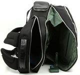 Рюкзак Piquadro Link черный кожа и ткань (CA1813LK/N)