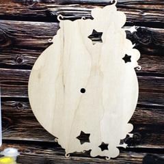 055-2765 Деревянные часы