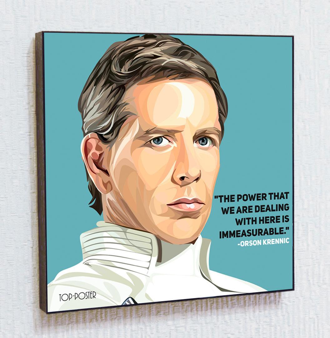 Купить картину постер ПОП-АРТ Орсон Кренник | STAR WARS | Звездные Войны