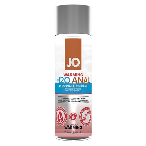 JO Anal H2O Warming, 60 ml Анальный возбуждающий лубрикант на водной основе