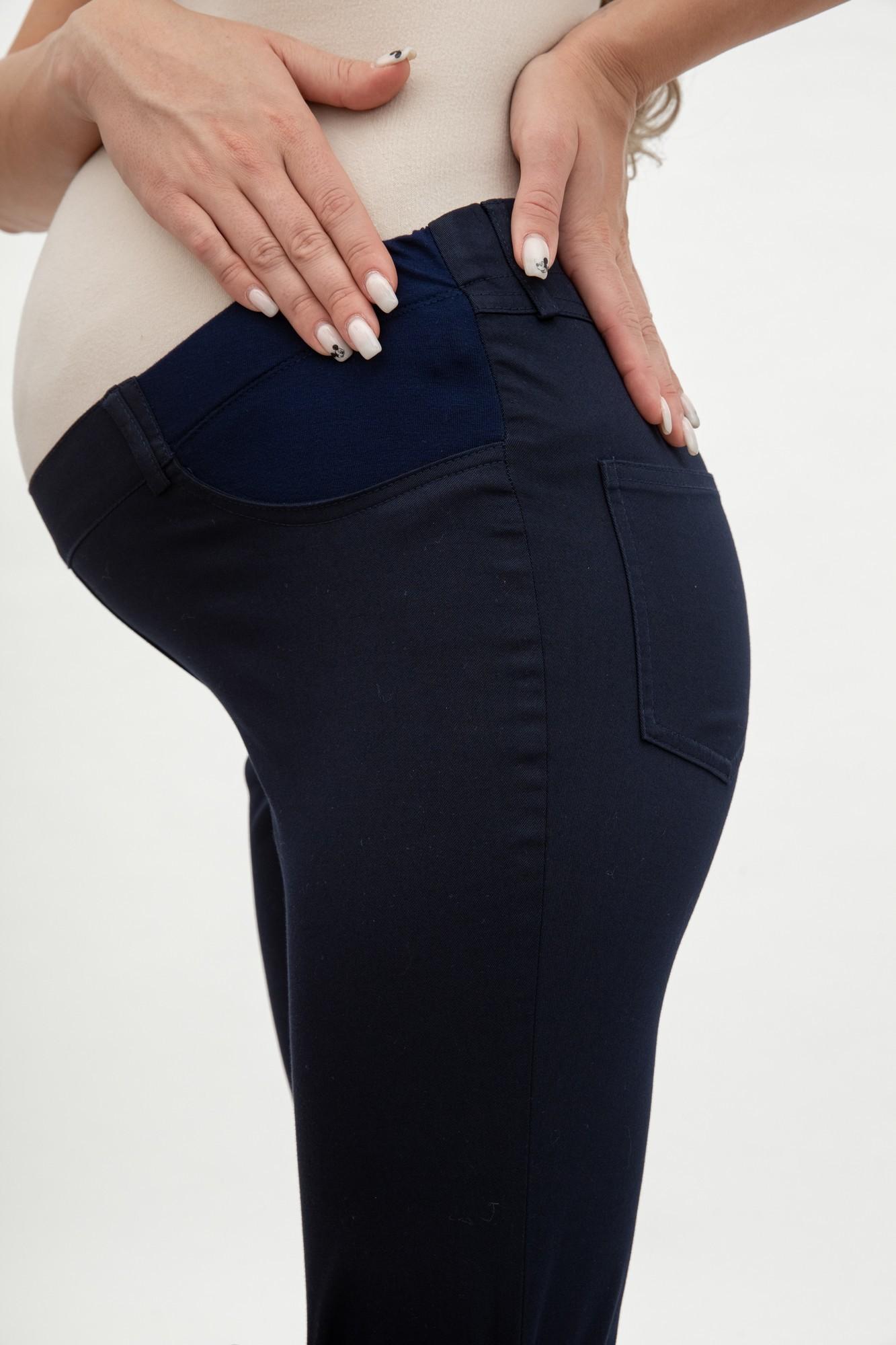 Брюки для беременных 03028 синий