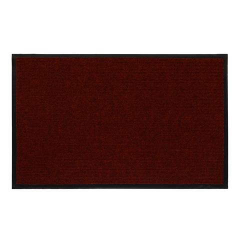 Коврик влаговпитывающий, ребристый, красный, 50*80 см