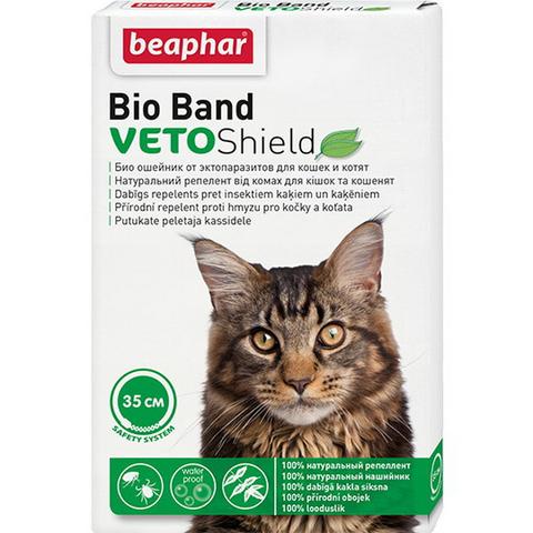 Беафар Bio Band ошейник от блох Био+ для кошек 35 см