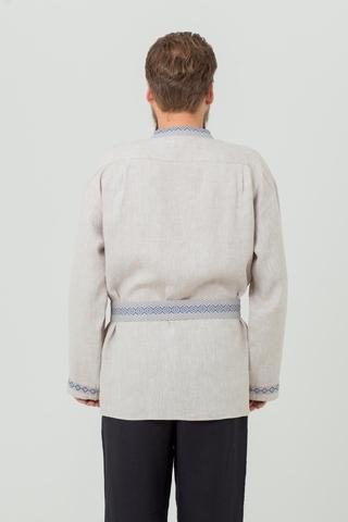 Рубаха Льняной дождь в русском стиле
