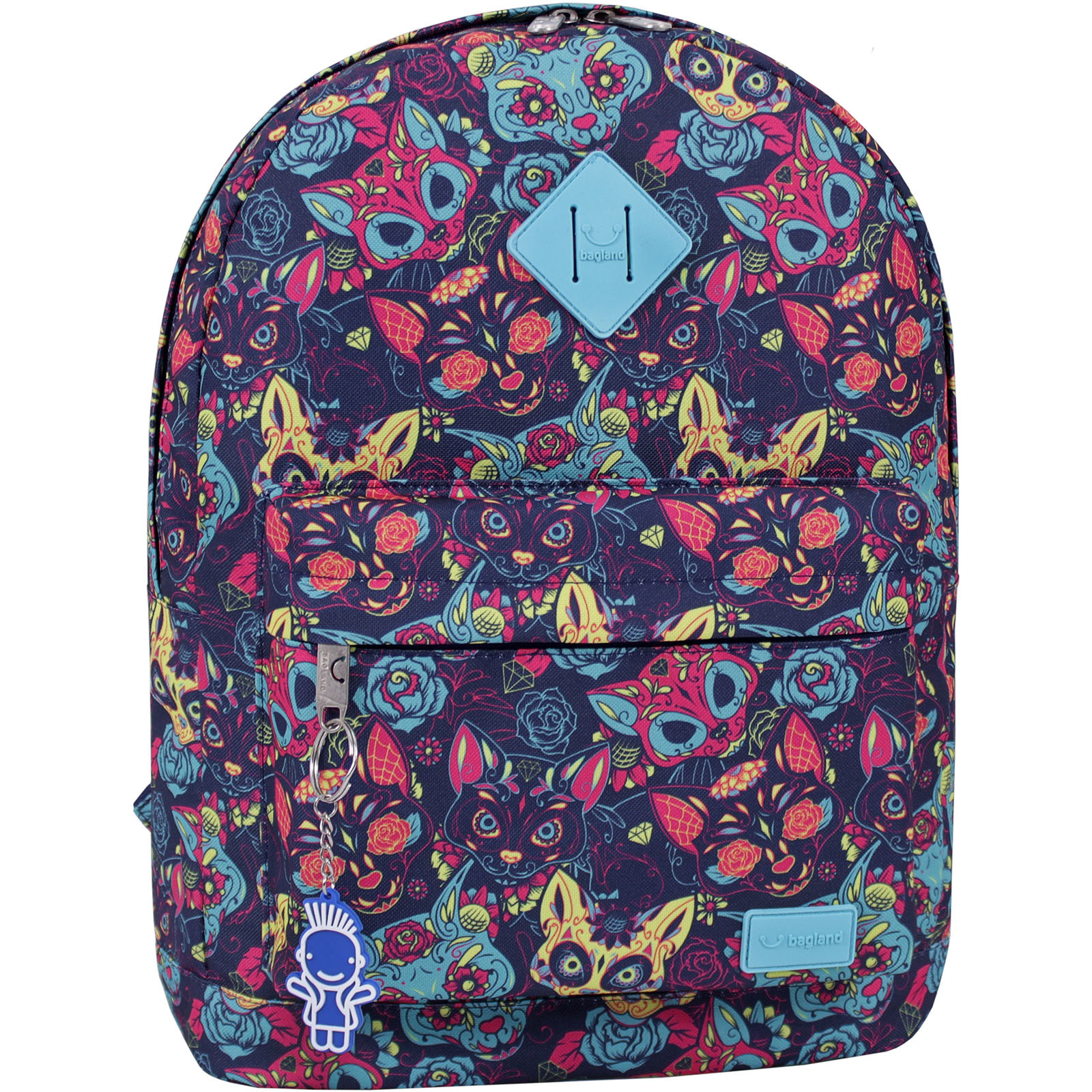 Городские рюкзаки Рюкзак Bagland Молодежный 17 л. сублимация 451 (00533664) IMG_9452_суб.451_.JPG