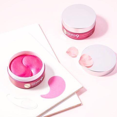 Патчи MEDI-PEEL Hyaluron Rose Peptide 9 Ampoule Eye Patch розовые