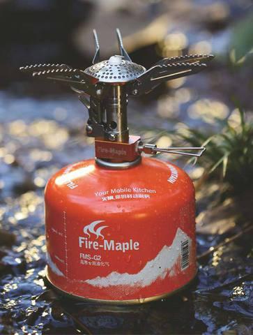 Картинка горелка туристическая Fire-Maple FMS-200 пьезо  - 2