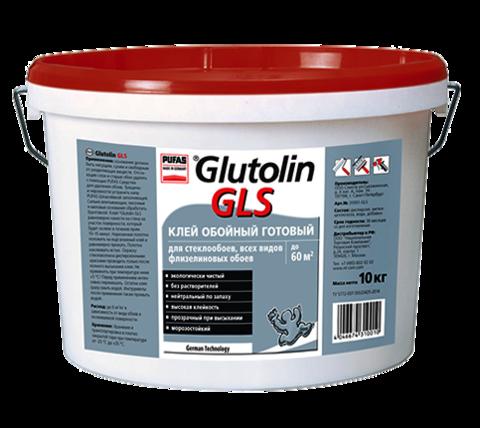 Клей готовый для стеклообоев Pufas Glutolin GLS 10 кг