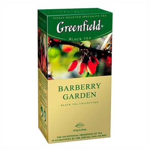 Чай GREENFIELD Травяной Barberry Garden 25*1,5 гр п/пак РОССИЯ