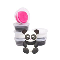 Набор пластилина Berger Kids Clay Животные 18 баночек 580 г Разноцветный (Beasts 01-18)