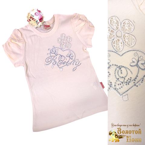 Блуза хлопок девочке (6-12) 210609-SH54081