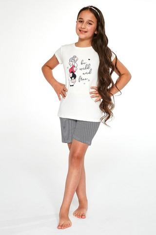 Пижама для девочек с шортами CORNETTE 787/788 BE WILD 2