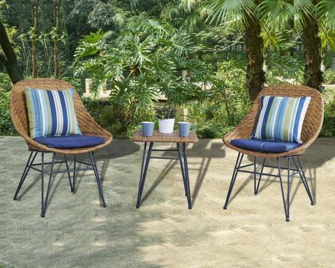 Комплект кофейный (стол и 2 кресла), 210488