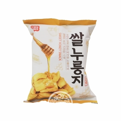 ЧИПСЫ рисовые сладкие Sweet Honey Snack с медом 110г Корея