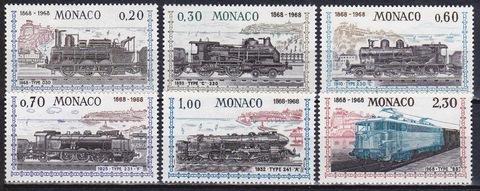 Монако 1968 №896-1 **MNH