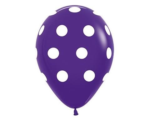 Шар в горошек цвет Фиолетовый