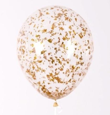 Крошка золото конфетти