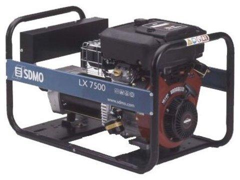 Кожух для бензинового генератора SDMO LX7500 (7200 Вт)