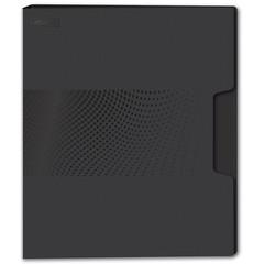 Папка с зажимом Attache Digital, черный