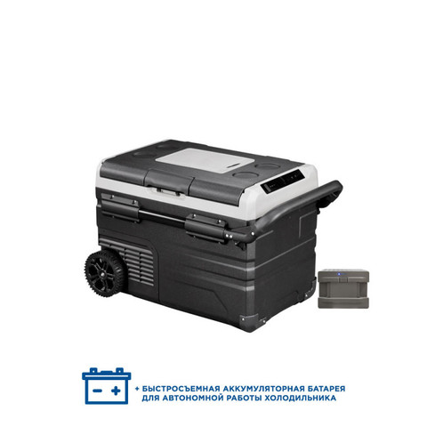 Компрессорный автохолодильник Alpicool ETWW35 (Двухкамерный, 12/24/110/220V, 35л)