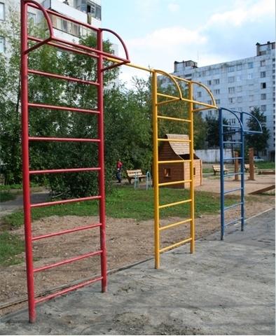 Стенка гимнастическая 1-секционная уличная