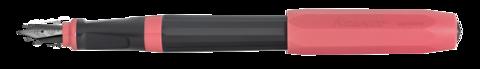 Ручка перьевая PERKEO Bad Taste  F 0.7мм черный корпус с розовыми вставками и колпачком
