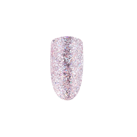 ONIQ Гель-лак 103, MIX: Dusty Pink Holographic Shimmer, 10 ml