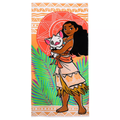 Пляжное полотенце Моана и ее друзья Disney