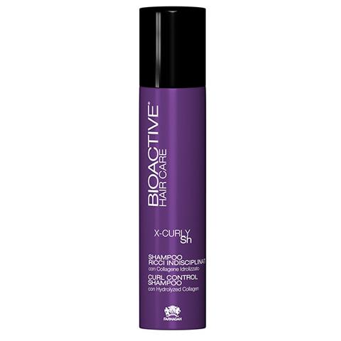Farmagan Bioactive X-Curly: Шампунь для вьющихся волос (Shampoo Control), 250мл
