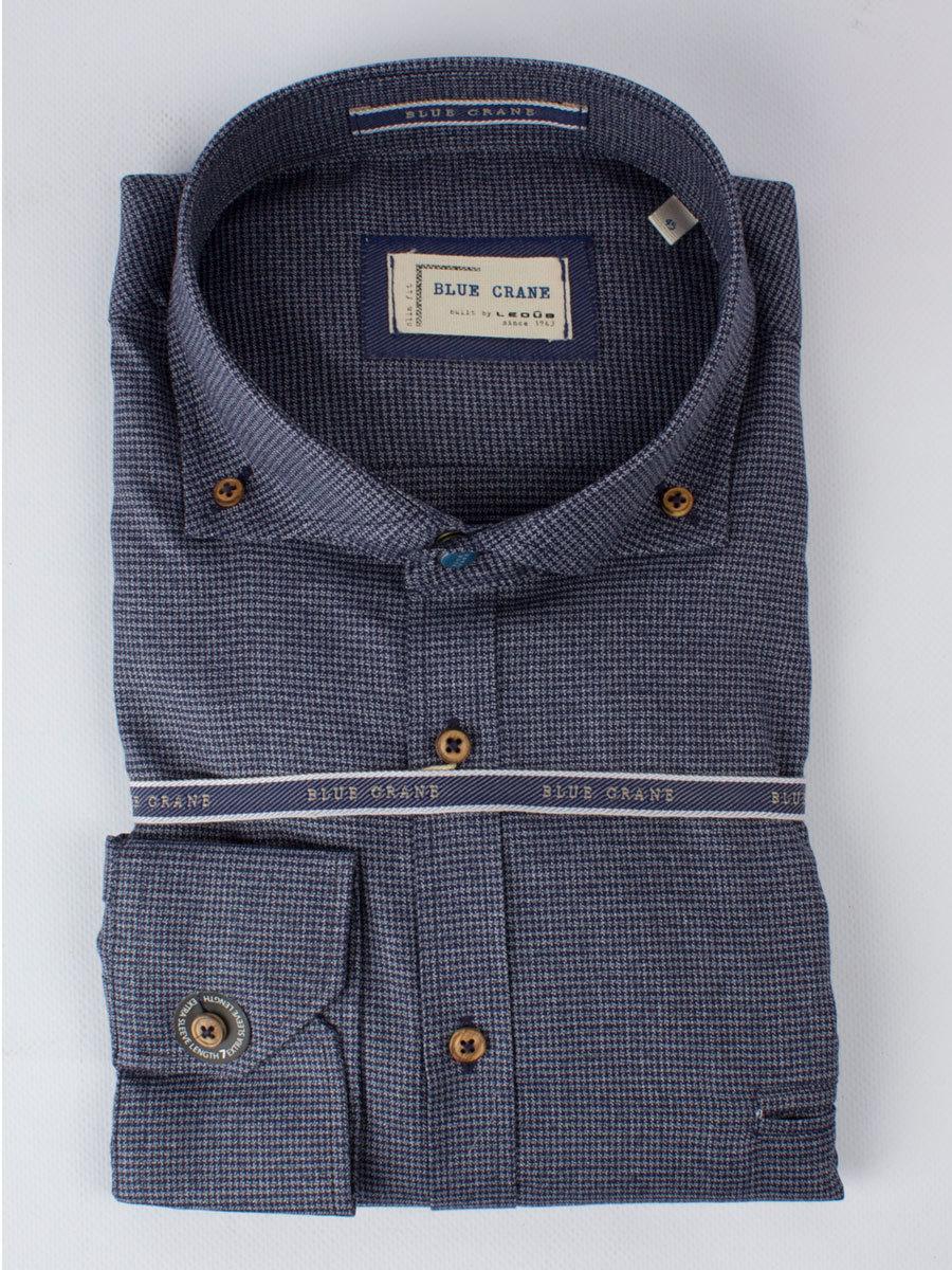 Рубашка Blue Crane slim fit 0136645-180-680-000-SF-Blue