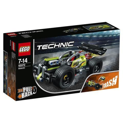 LEGO Technic: Зеленый гоночный автомобиль 42072 — WHACK — Лего Техник
