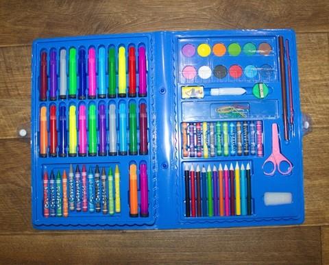 Набор детский творчества 86 предметов