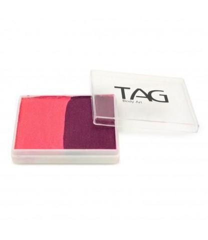Аквагрим TAG 50 гр розовый/вино