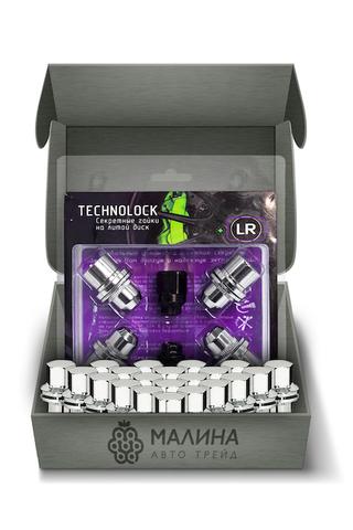 Готовый набор из колёсных гаек М14x1.5 и комплекта секреткок TECHNOLOCK LR