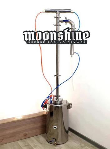 Ректификационная колонна Moonshine Прима Тора кламп 2