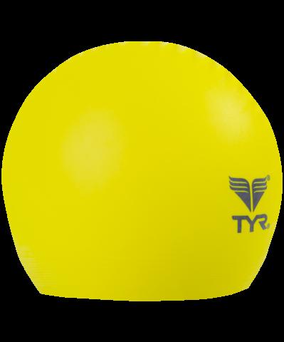Шапочка для плавания Latex Swim Cap, латекс, LCL/730, желтый