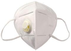 Защитная маска респиратор KN 95 с клапаном
