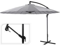 Зонт садовый складной Koopman 300 Grey