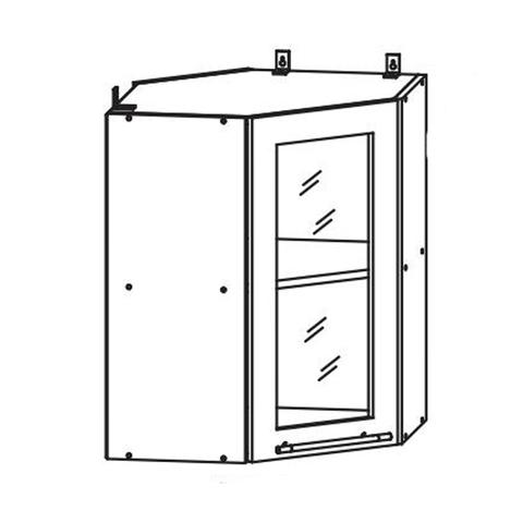 Кухня Гранд Шкаф верхний угловой ст.  550*550