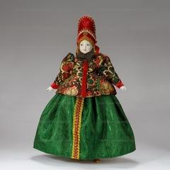Интерьерная кукла в праздничном Костромском костюме